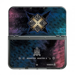 Autocollant sticker Monster Hunter Generations  pour New 3DS(LL)
